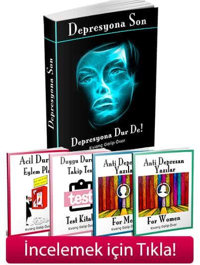 Depresyona son kitap seti
