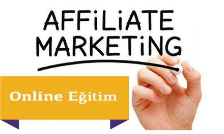 Affiliate Marketing Satış Ortaklığı Eğitimi ile internetten Para Kazanmak